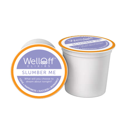 Beverage brewing system pod of WellOff Slumber Me, our best tea for anxiety