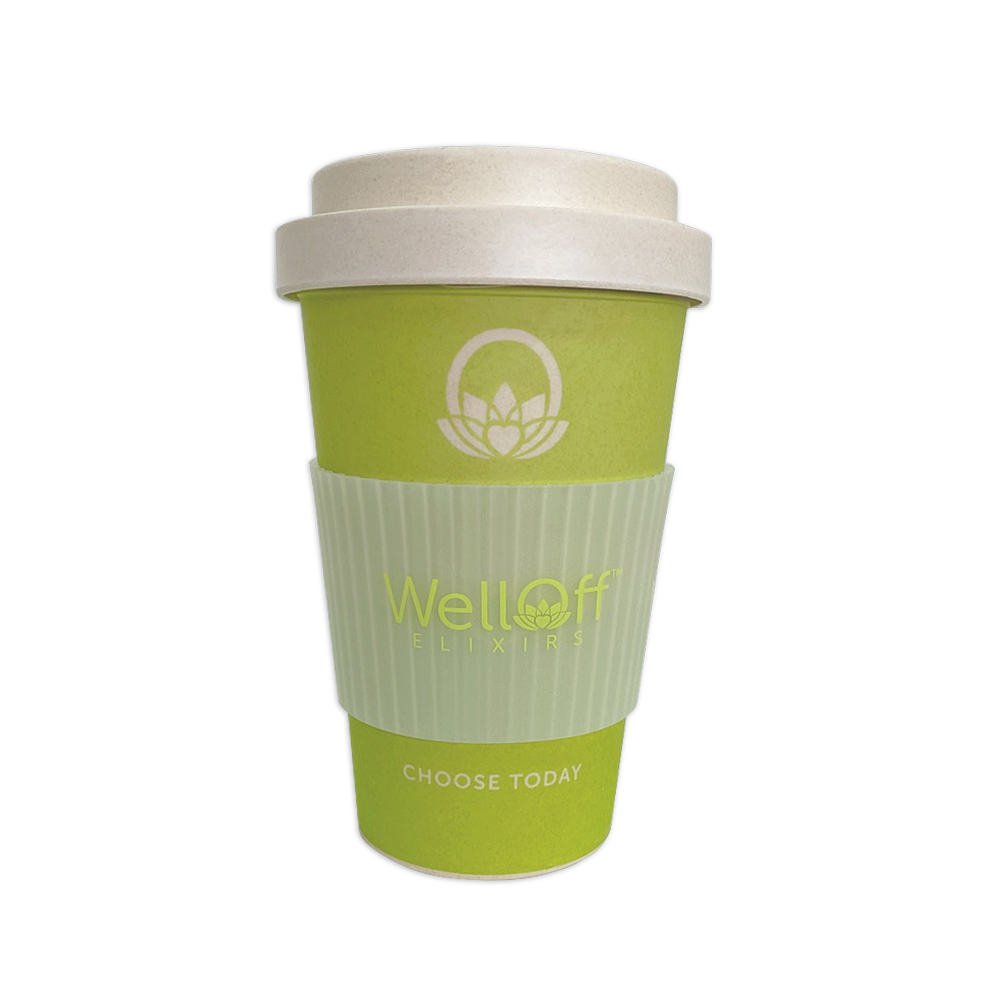 WellOff Travel Mug Green